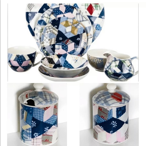 Ralph Lauren Other - RALPH LAUREN WEDGEWOOD PATCHWORK JELLY SUGAR $75